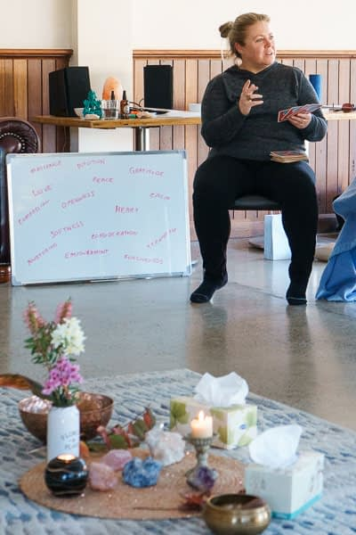 Feminine Intuition at Wild & Free Retreat