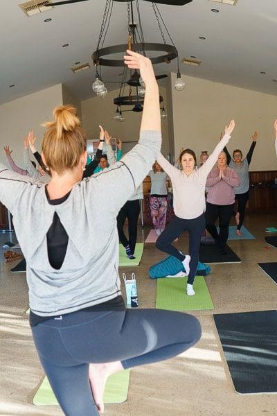 Yoga at Wild & Free Retreat